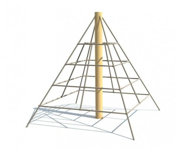 Lanová pyramida REVO - MINI, pádová výška 1,0 m