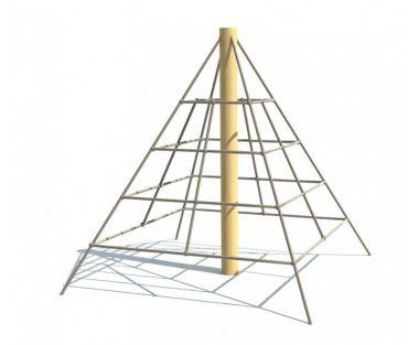 Lanová pyramida REVO - MINI, pádová výška 1,0 m - S8