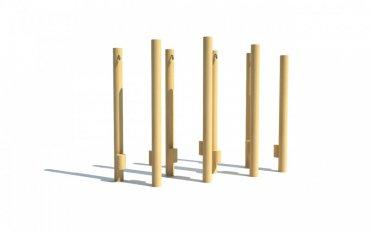 Chůdy 8 ks délka cca 2,5 m - T5